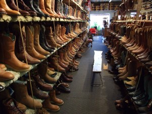 Buy new boots, or get your favorite oldies repaired.